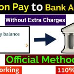 How To Transfer Amazon Pay Balance To Bank Account – in HINDI